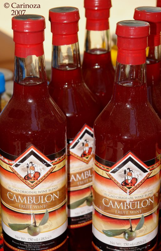 Cambulon (local fruit wines)