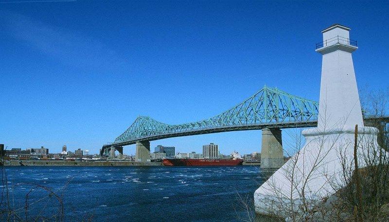 The Jacques-Cartier bridge