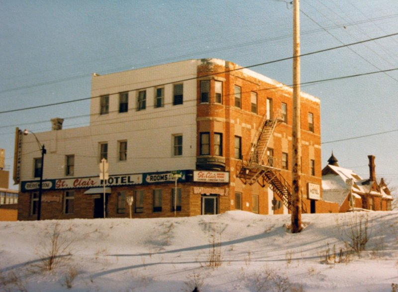 St Clair Hotel, Sarnia - now the Riverport
