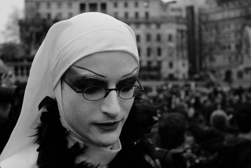 male nun : a photographer