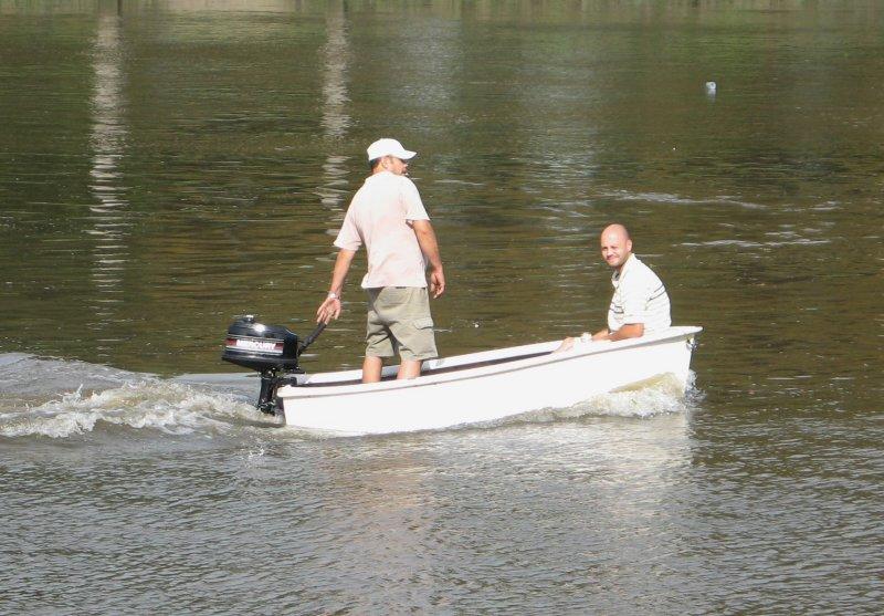 Small boat.