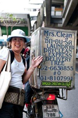 Mrs Clean in Thailand