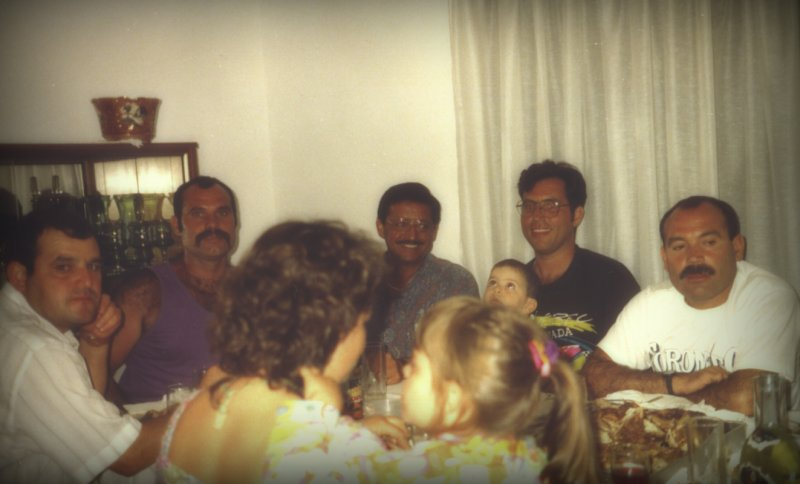 1992 - George with John & family, Madeira - Portugal