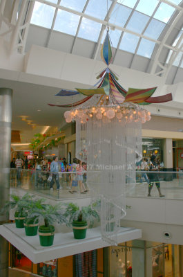 Christmas Chandelier at Mall at Milennia