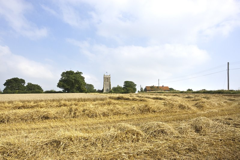 Our Local Church at Harvest Time