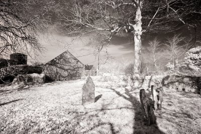Toned Infrared Church