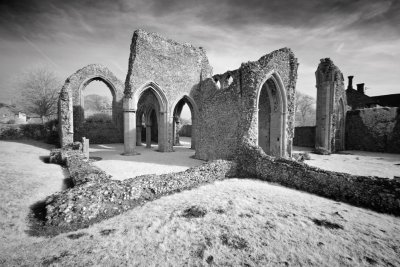 Creake Abbey Infrared