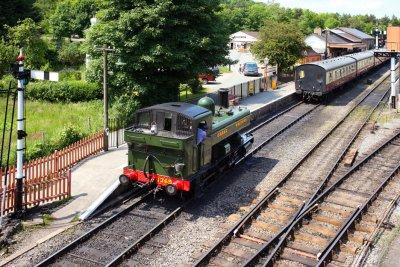 Buckfastleigh-Totnes Steam Railway