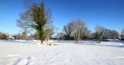 Plumstead Pond after Snow