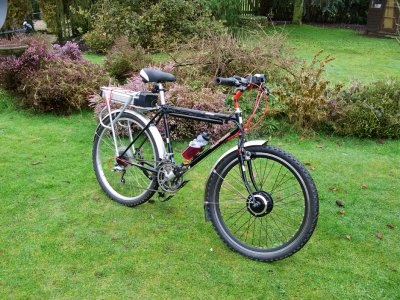 Alien electric bike conversion