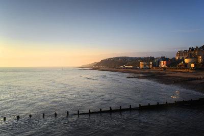 Sunrise fromCromer Pier