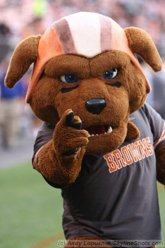 Cleveland Browns mascot