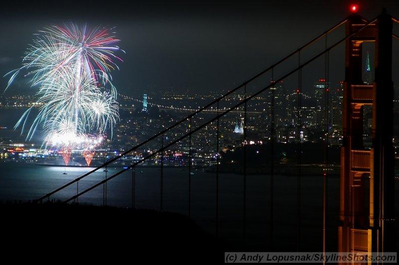 Fourth of July 2009 Fireworks - San Francisco
