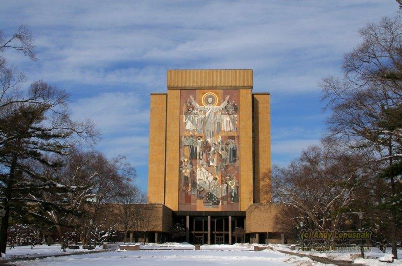 Touchdown Jesus - University of Notre Dame