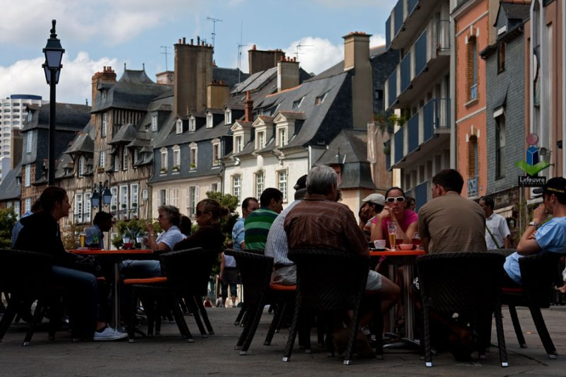 Caf� in Rennes