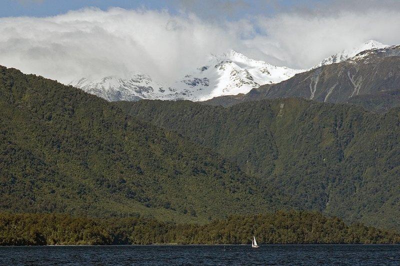 Sailing in Beauty, Lake Kaniere