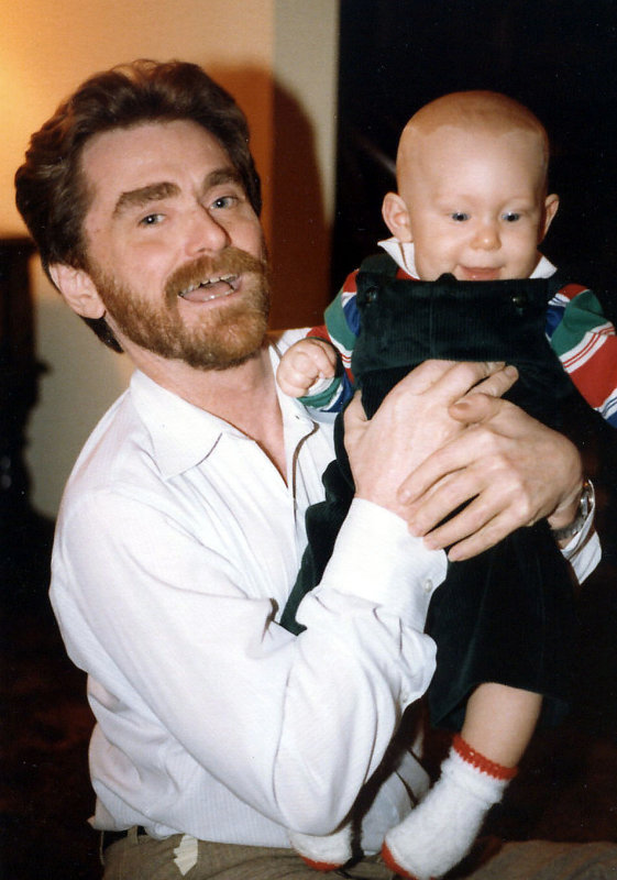 Uncle Paul with Tim
