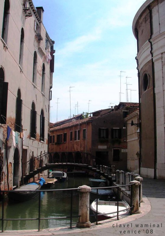 Streets in Venice are called Canals