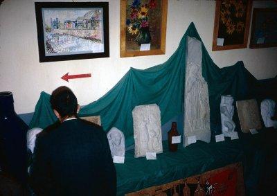 Student Art Sculptures