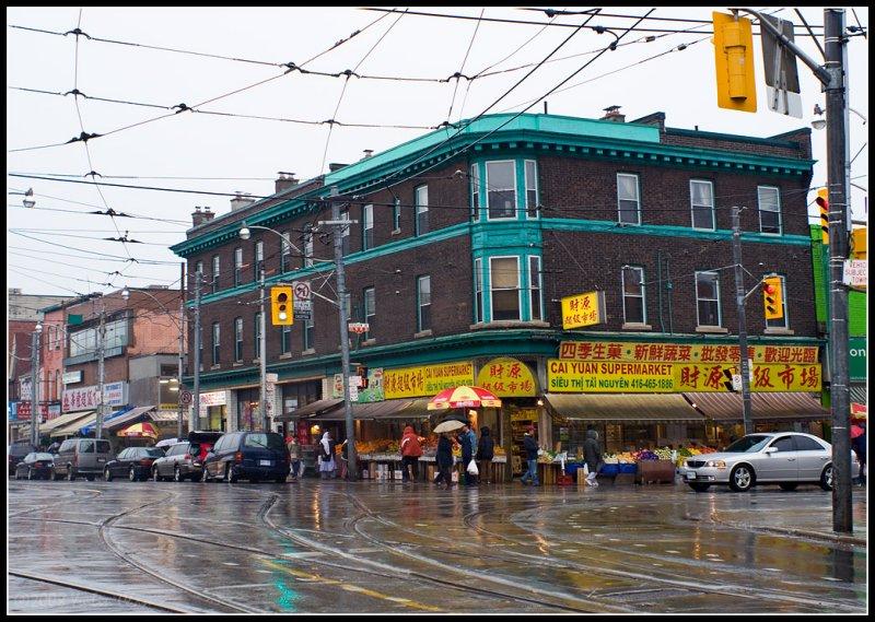 Corner of Gerrard & Broadview (East Chinatown)