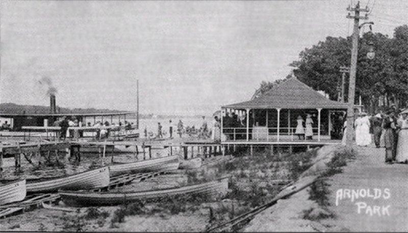 Arnolds Park Beach