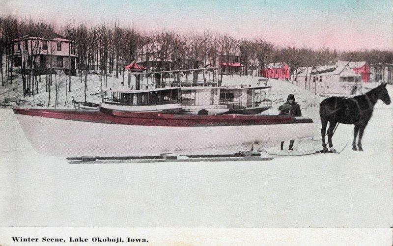 Smiths Bay Winter Scene