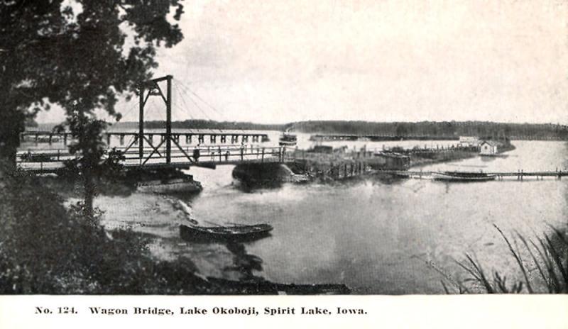 Wagon Bridge Lake Okoboji
