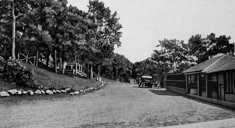 Driveway At The Inn