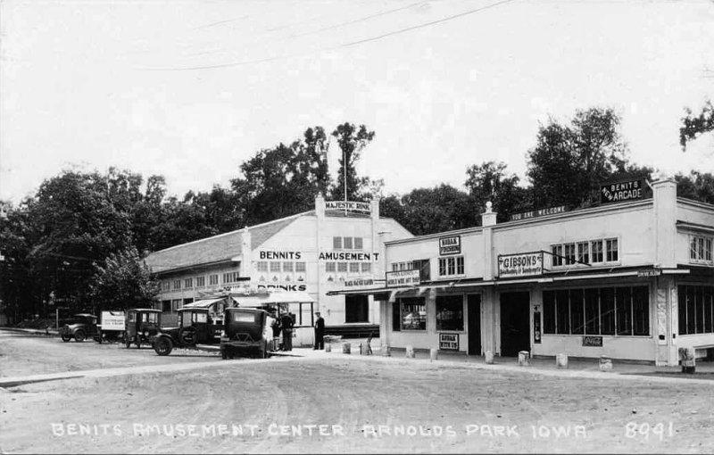 Benits Amusement Center 1920s