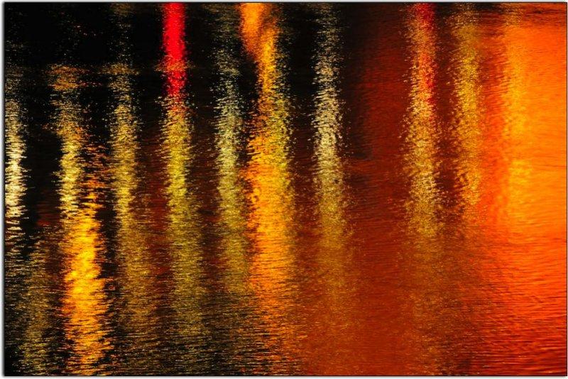 Bridge Reflections Over the Sacramento River