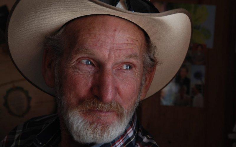 Cowboy at the Bagdad Cafe