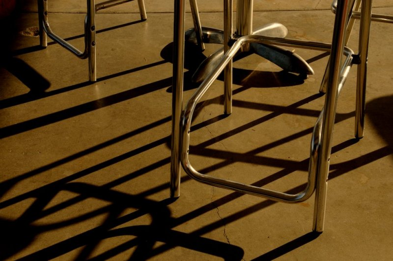 Chairs, Roys Cafe