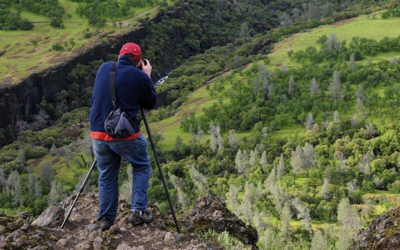 Chuck Photographs BIg Chico Creek Canyon