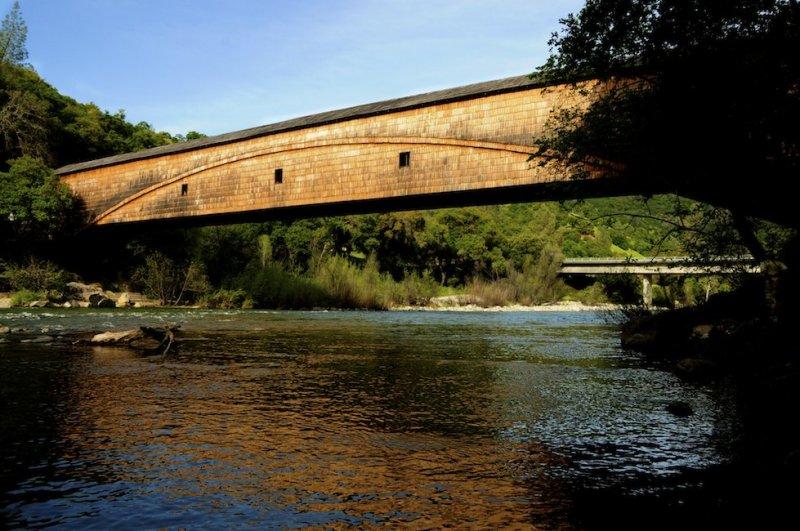 Bridgeport Bridge on the South Fork of the Yuba River