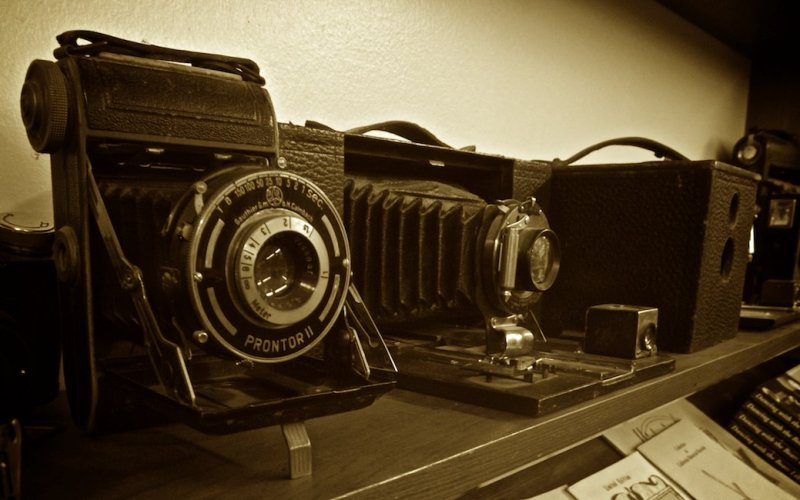 Camera Collection, Taylorsville Museum