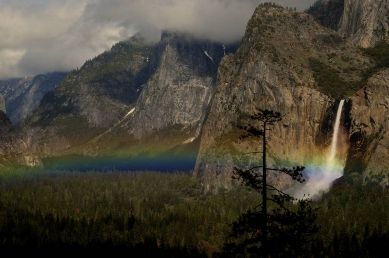 Rainbow Over Yosemite