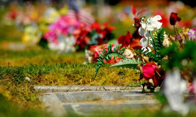 Remembered with Flowers