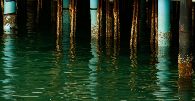 Pier Pillings, Fishermans Wharf