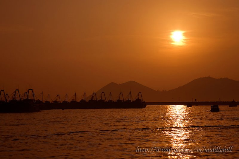 Cheung Chau sunset - 3338