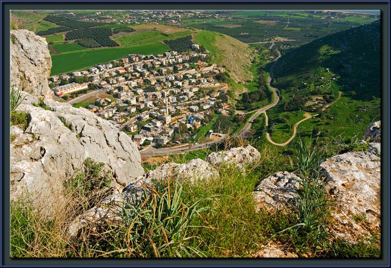 The Arab village of Wadi Hamam
