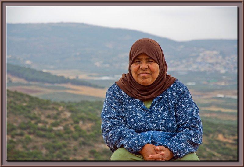 A Beduine woman - Galilee, Israel