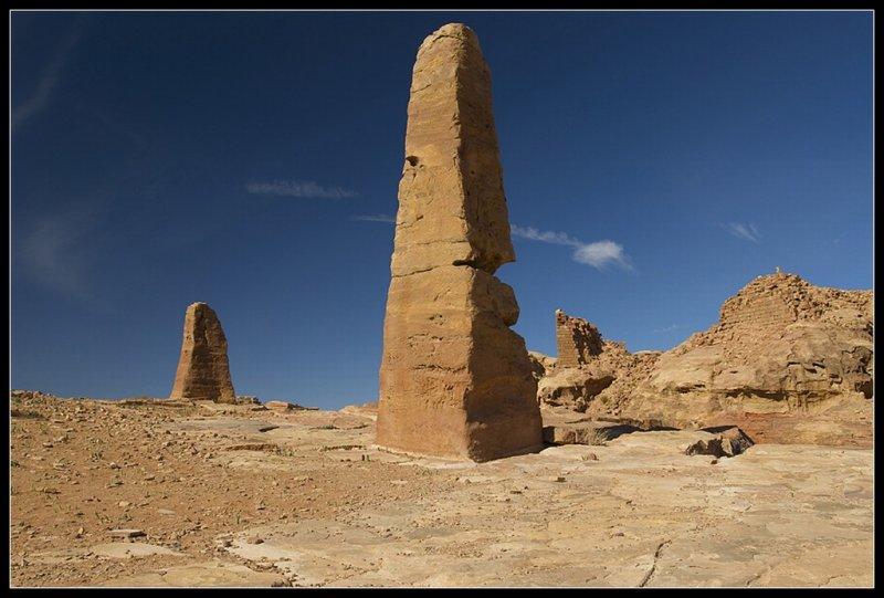 The obelisks
