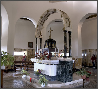 Mt. of Beautitudes chapel