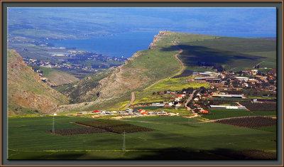 Mt. Arbel & Sea of Galilee