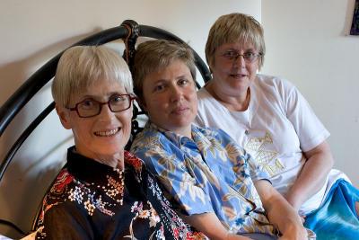 Mum, Jen, and Margaret
