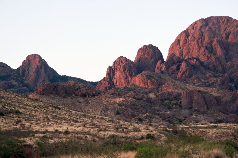 Organ Mountains along the Soledad Canyon trail