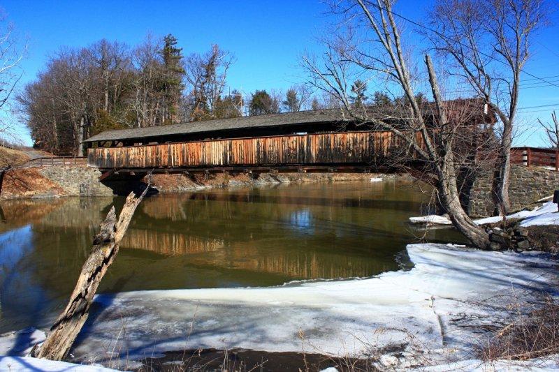 Perrine Covered Bridge<BR>February 15, 2009