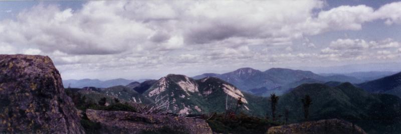Adirondack High Peaks Panorama