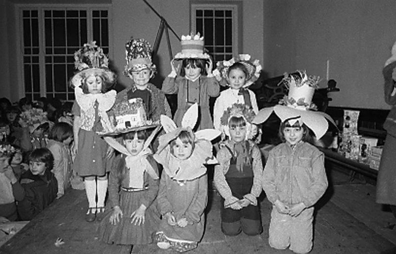 Easter Bonnets Carnifal Dwyran 1981.
