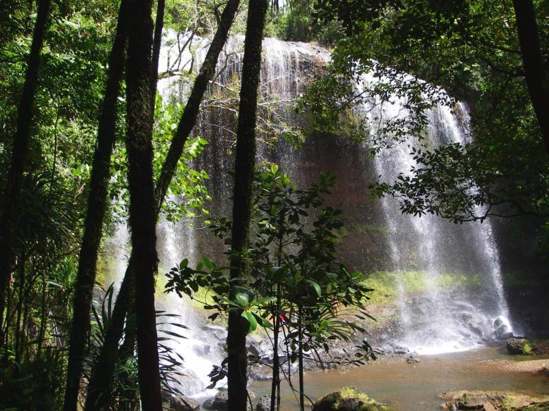 Ngardmau Waterfall